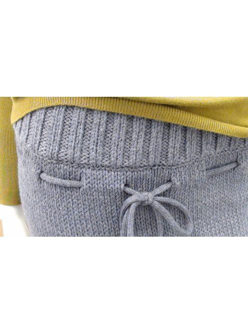 Szürke kötött női nadrág Global Outlet