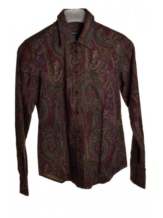 Gant barna, mintás női ing