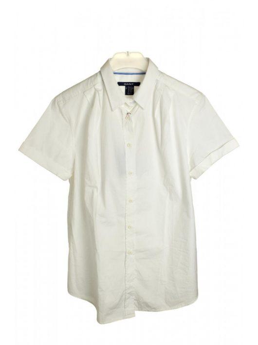 Gant fehér, rövid ujjú női ing