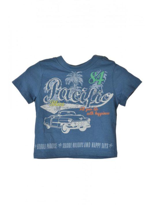 Boboli szürkéskék,  Pacific Blue fiú póló – 62